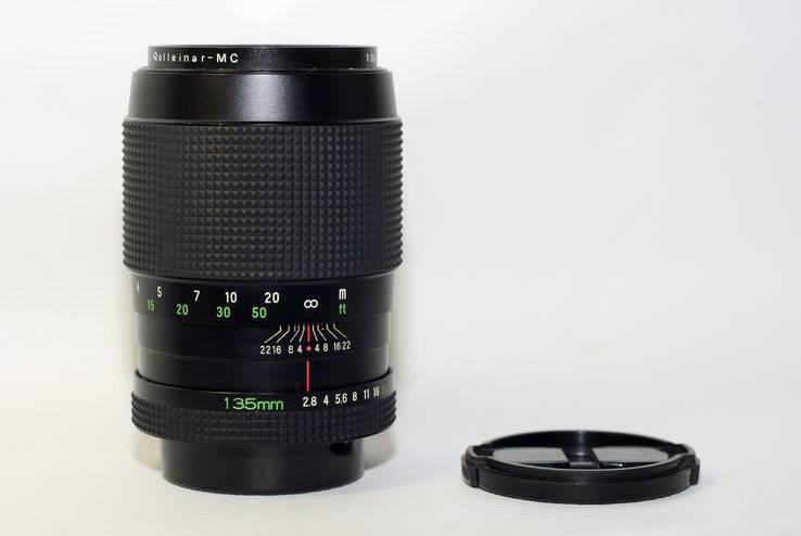 Rolleinar - MC 1:2.8 f=135mm ROLLEI JAPAN, фото №2