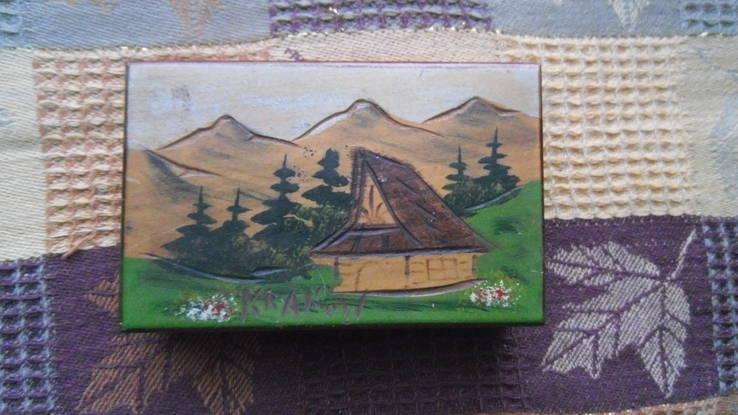 Шкатулка дерево Krakow ручная роспись, фото №6