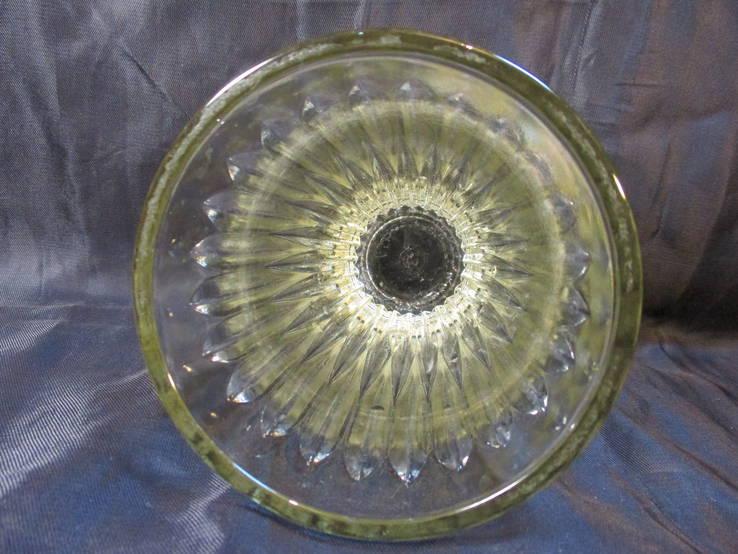 Вазочка стекло, 15 см, фото №6