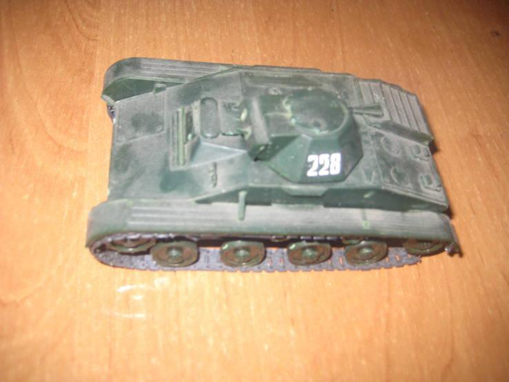 Макет,сборная модель танка Т-70 масштабная модель