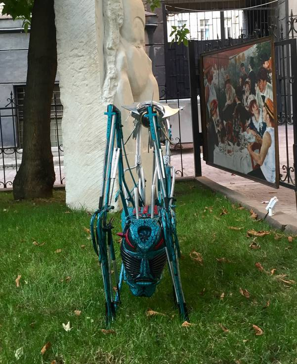 Скульптура из металла Всадник апокалипсиса, фото №5