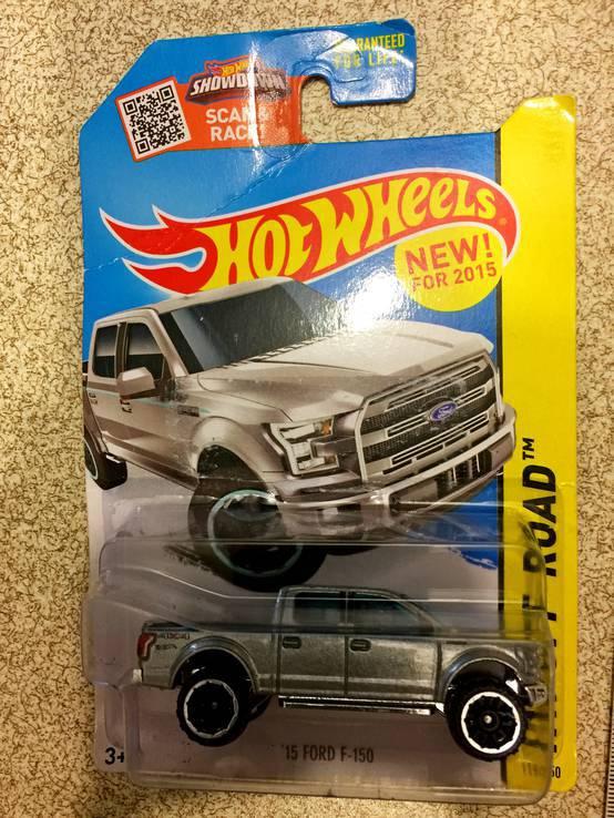 Машинка Hot Wheels 15 FORD F-150