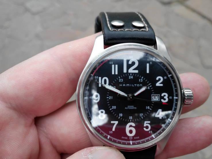 Копия hamilton часы