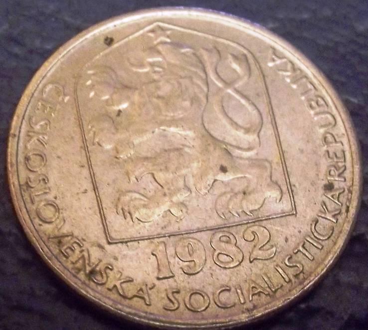 50 геллерів  1982 року ЧССР, фото №3