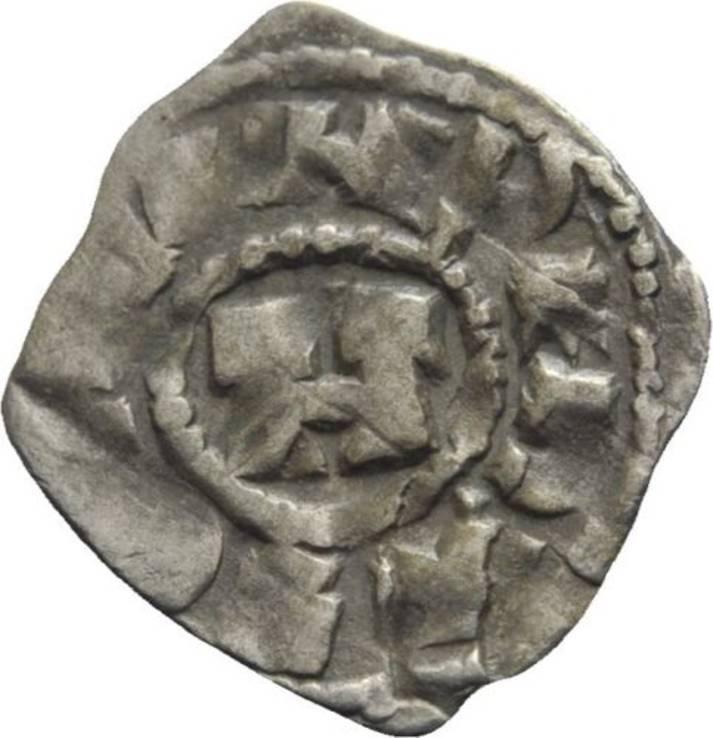 Денар. Италия Лукка Генрих III 11 век, фото №2