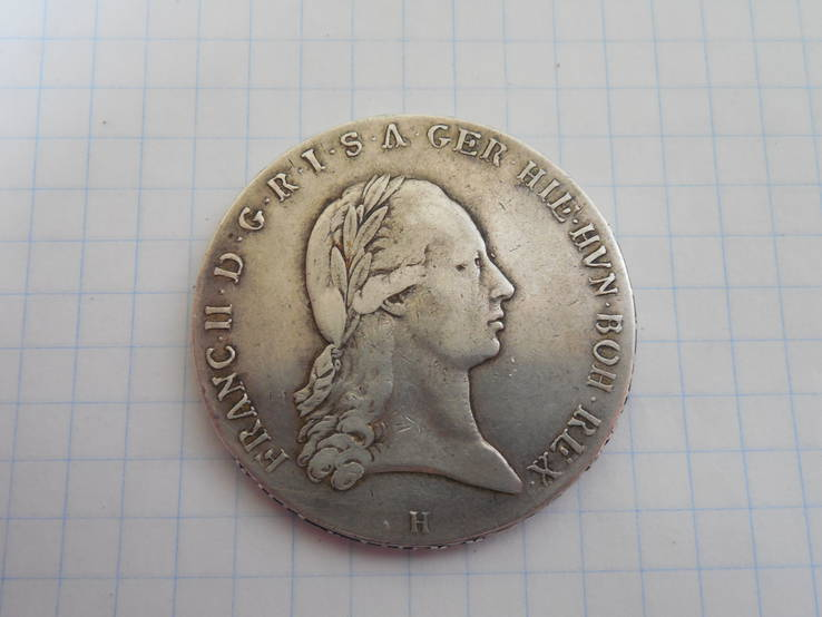 Талер 1795г. Австрия
