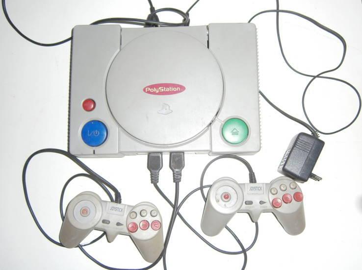 Игровая приставка PоlyStation + 12 игр.
