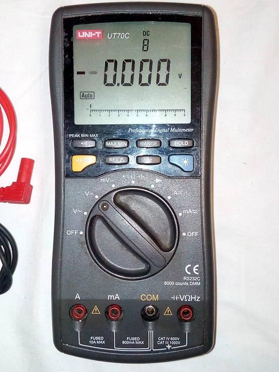 Профессиональный мультиметр UT70C