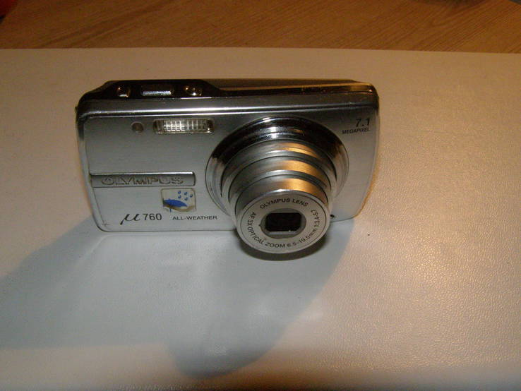 Olympus MJU 760 Light Silver