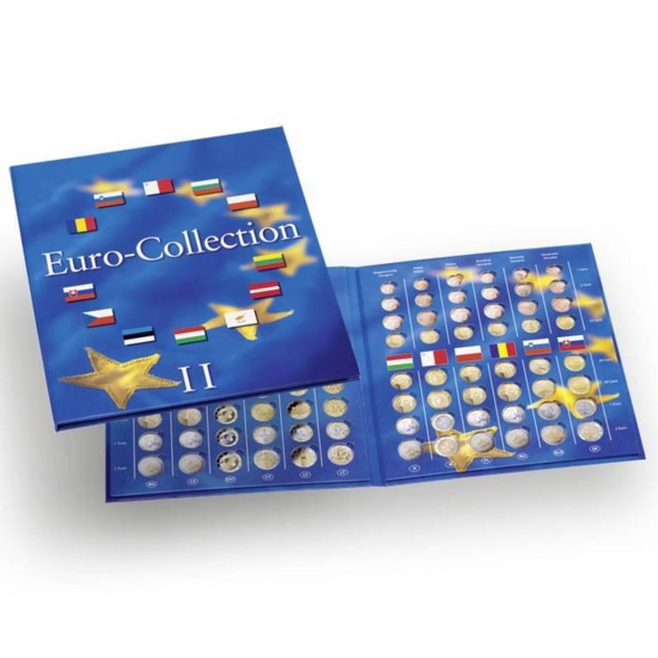 Альбом для наборов Евромонет (новые страны) EUROCOL2 том 2