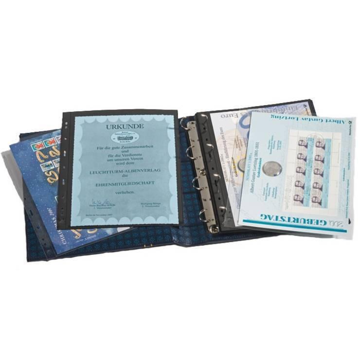 Альбом GRANDE для монет в холдерах или купюр, с футляром, фото №3
