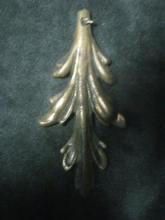Бронзовый листик, фото №2