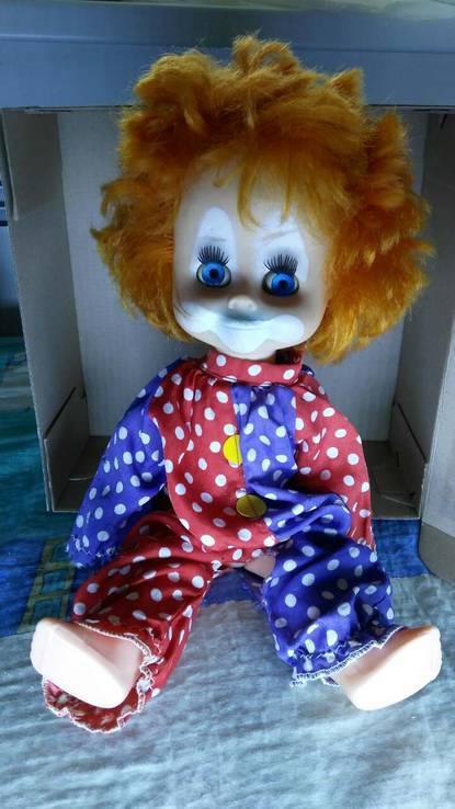 Кукла СССР Клоун, фото №3
