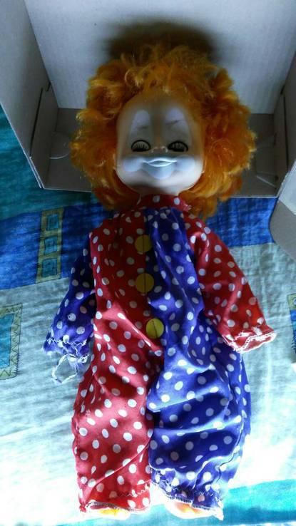 Кукла СССР Клоун, фото №4