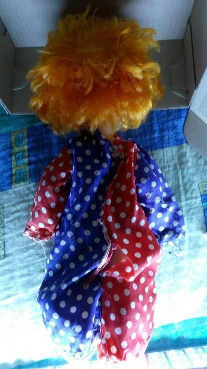 Кукла СССР Клоун, фото №5