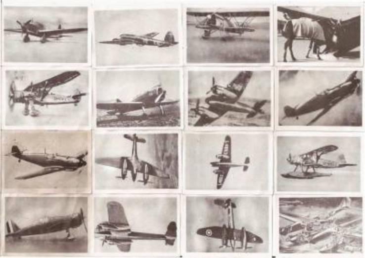 Сигаретные вкладыши третий рейх самолеты