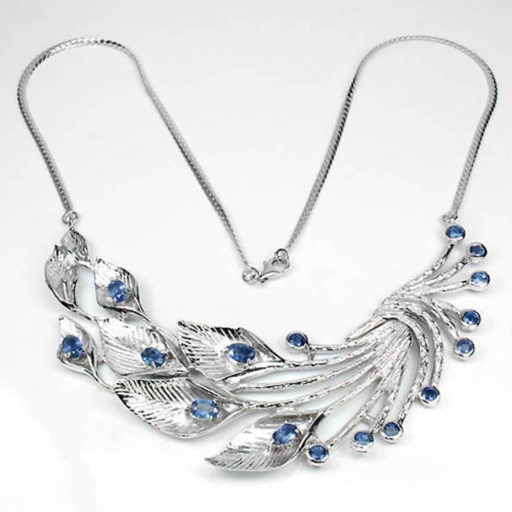 Ожерелье с сапфирами, фото №3