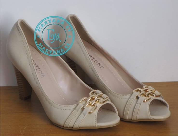 Бежевые Туфли 40 размер