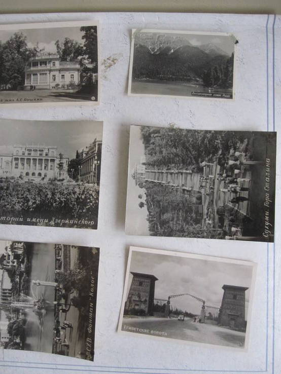 Фотооткрытки уменьшенный формат. 6 шт. одним лотом., фото №2