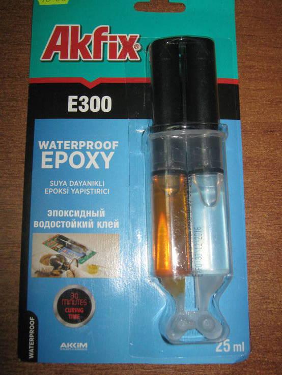 эпоксидный клей водостойкий для сантехники