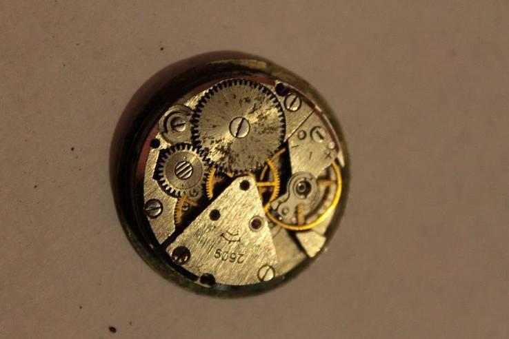 Механизм иностранных часов, фото №6