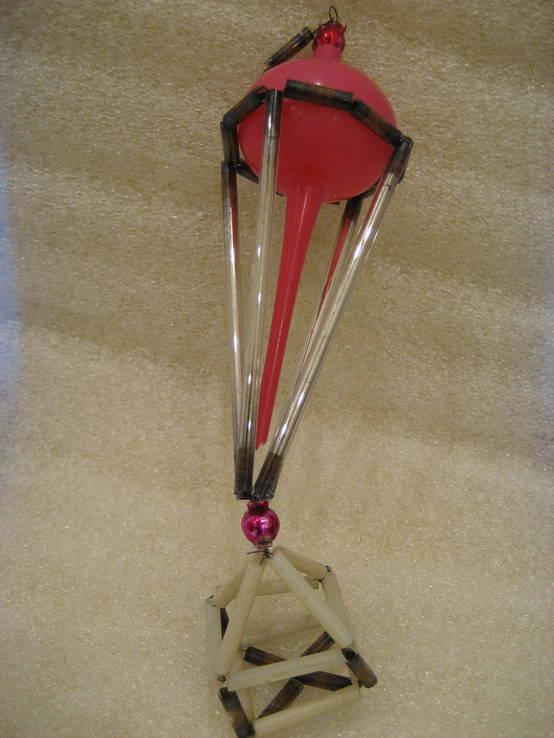 Воздушный шар стеклярус, фото №2