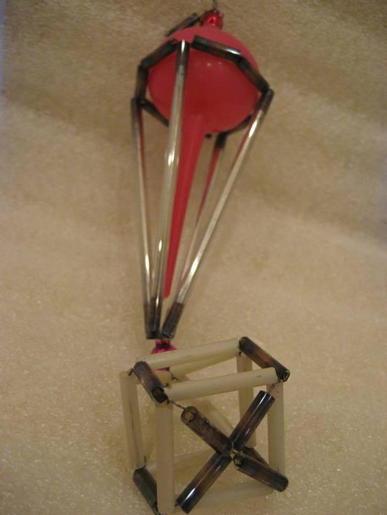 Воздушный шар стеклярус, фото №6