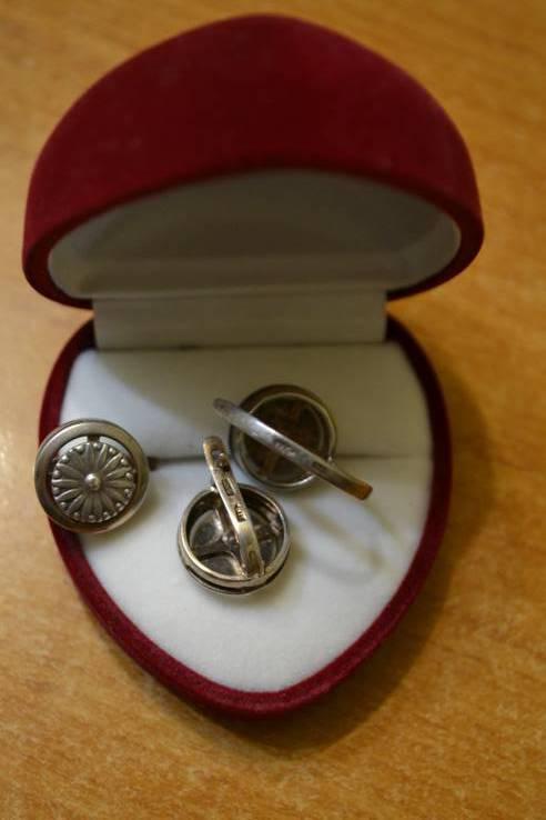 Серебро.Кольцо и серьги., фото №3