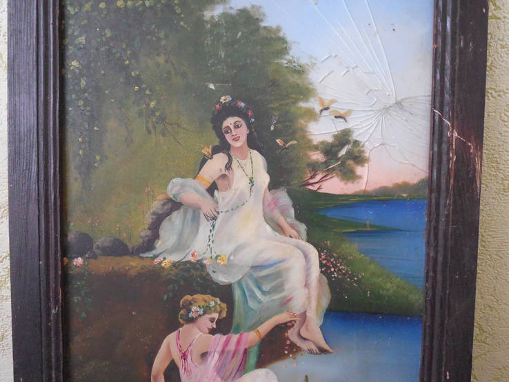 Картина на стекле, фото №4
