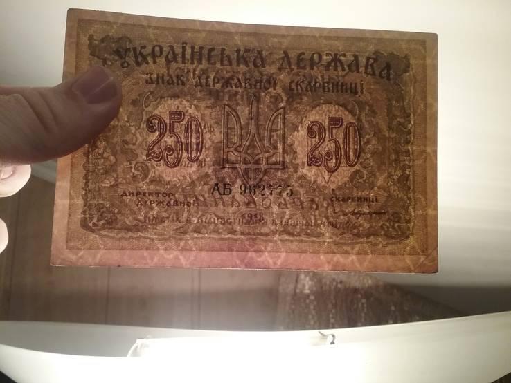 250 карбованців 1918 серія АБ, фото №4