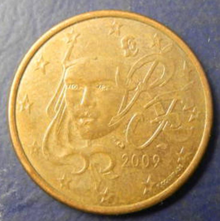 5 євроцентів Франція 2009, фото №2