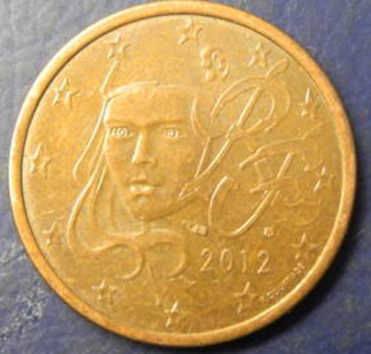 5 євроцентів Франція 2012, фото №2