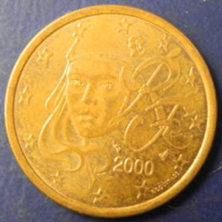 5 євроцентів Франція 2000, фото №2