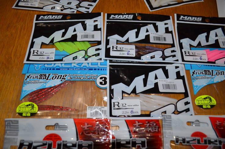 Набор съедобного силикона для УЛ. Япония (MARS и AZURA)  11 пачек, фото №3