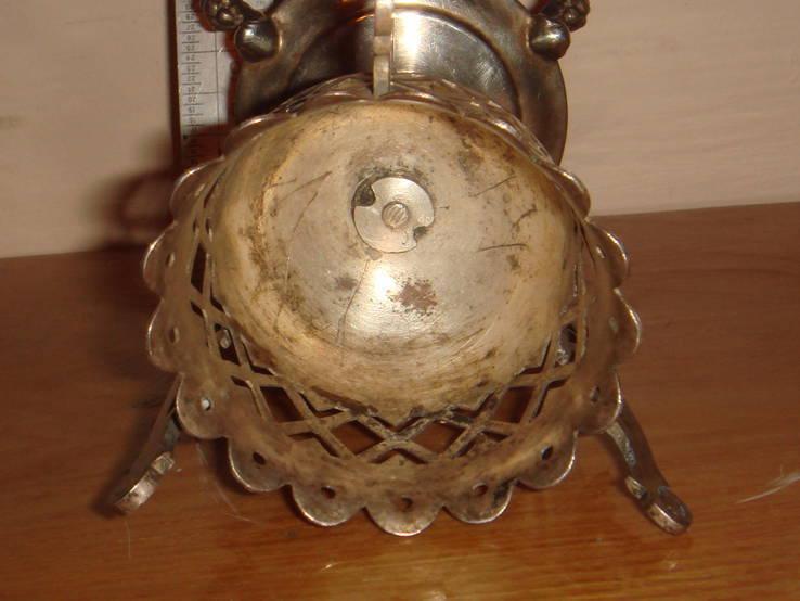 Настольная лампада, изготовленная поставщиком Императорского двора, фото №5