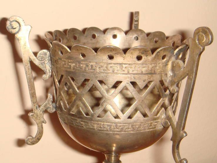 Настольная лампада, изготовленная поставщиком Императорского двора, фото №7