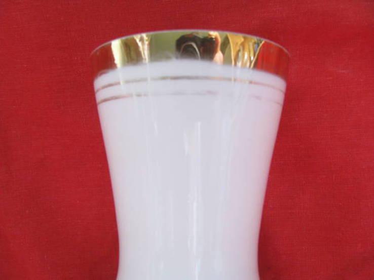 Ваза - молочное стекло., фото №5