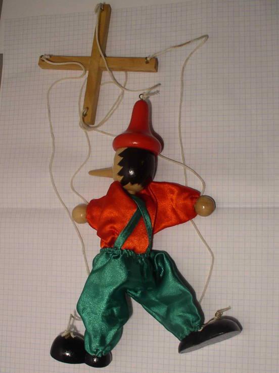 Кукла Пинокио марионетка, фото №5