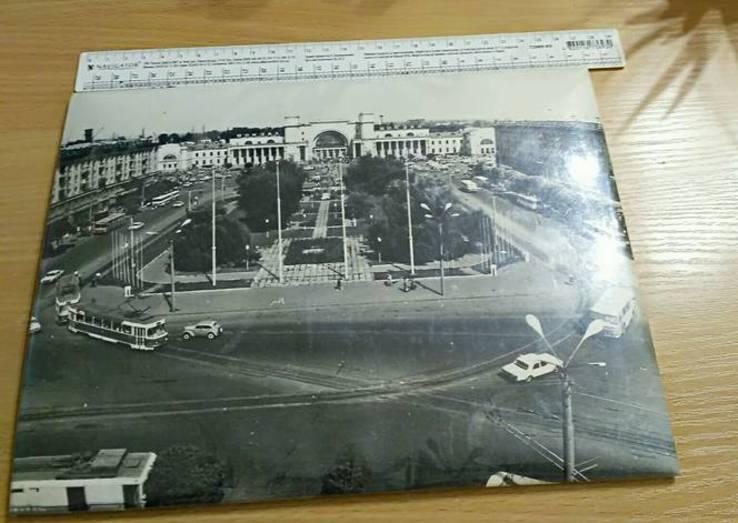 """Фотопортрет """" Вокзал Днепропетровск"""" конец 60 х годов, фото №3"""