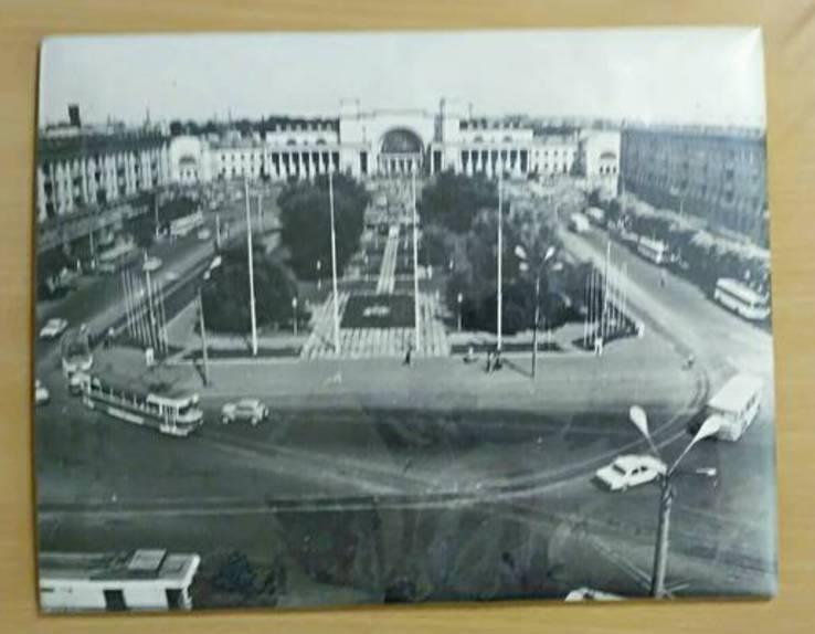 """Фотопортрет """" Вокзал Днепропетровск"""" конец 60 х годов, фото №6"""