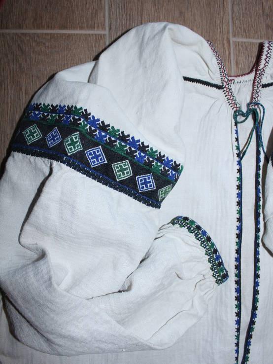 196 Старовинна сорочка вишиванка, фото №3