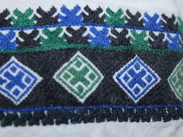 196 Старовинна сорочка вишиванка, фото №4