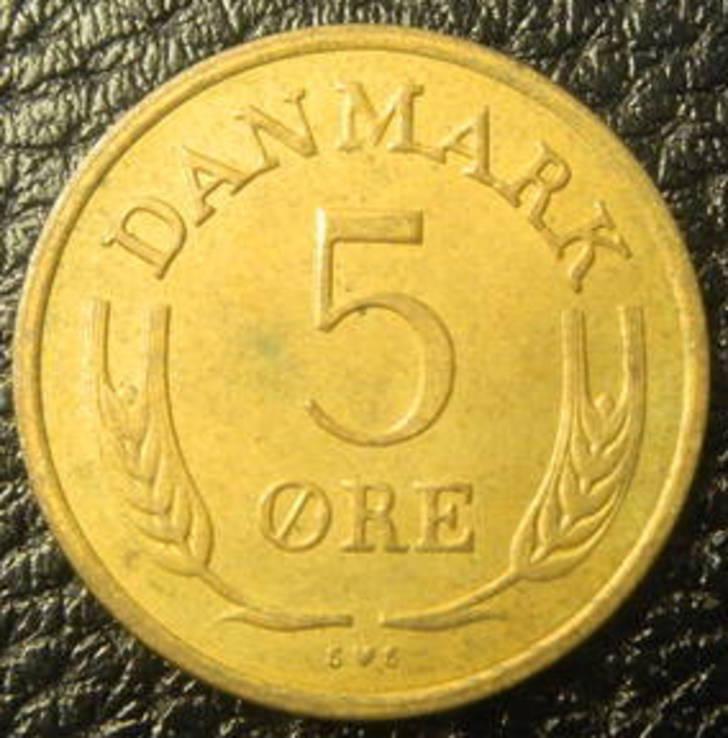 5 оре Данія 1972, фото №3