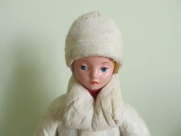 Снегурочка. опилки. 1969 год. СССР.