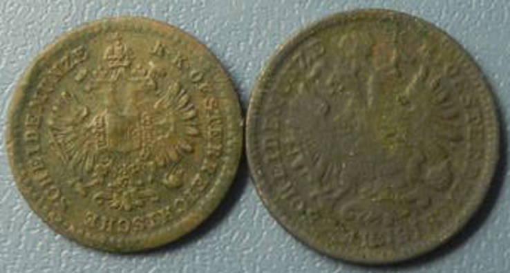 Монети Австро-Угорщини (крейцери), фото №3