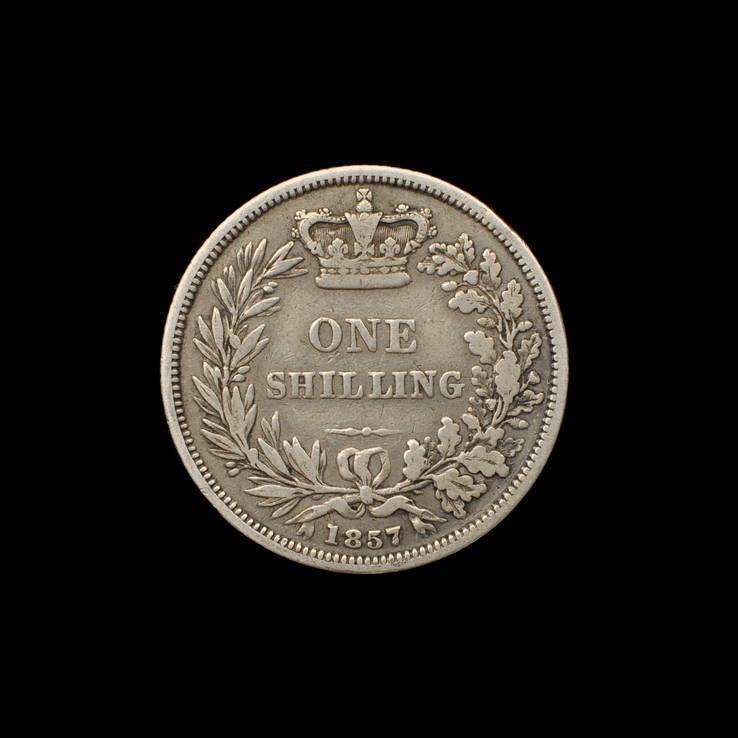 1 Шиллинг 1857 Виктория, Великобритания