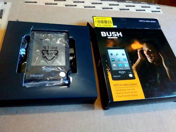 Bluetoth Видео плеер 16Гб mp3\mp4 BUSH , новый