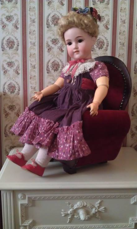 Антикварная кукла armand marseille 65 см