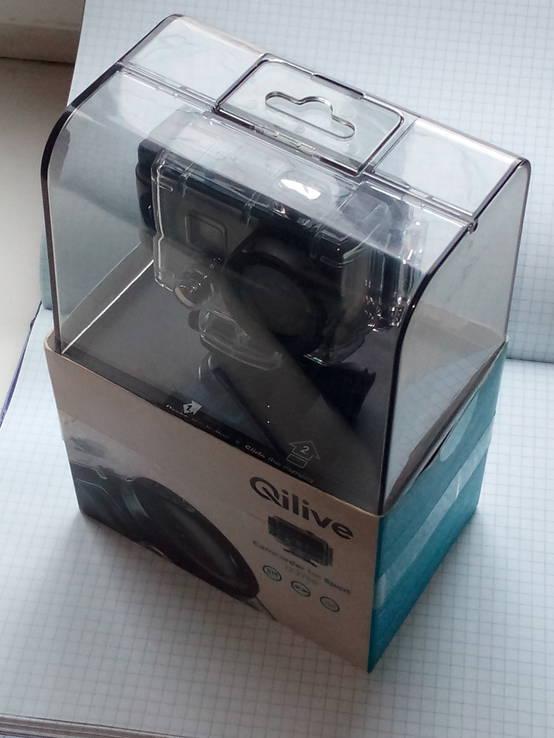 """Камера про спорт"""" Qilive -Q2755"""" HD 1080p"""