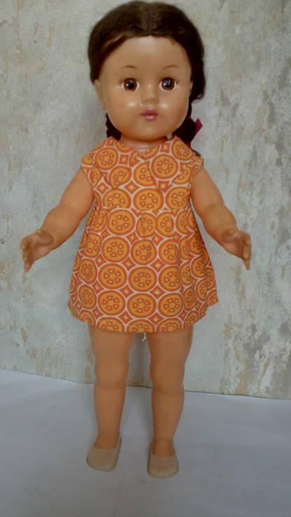 Кукла паричковая СССР 55 см.